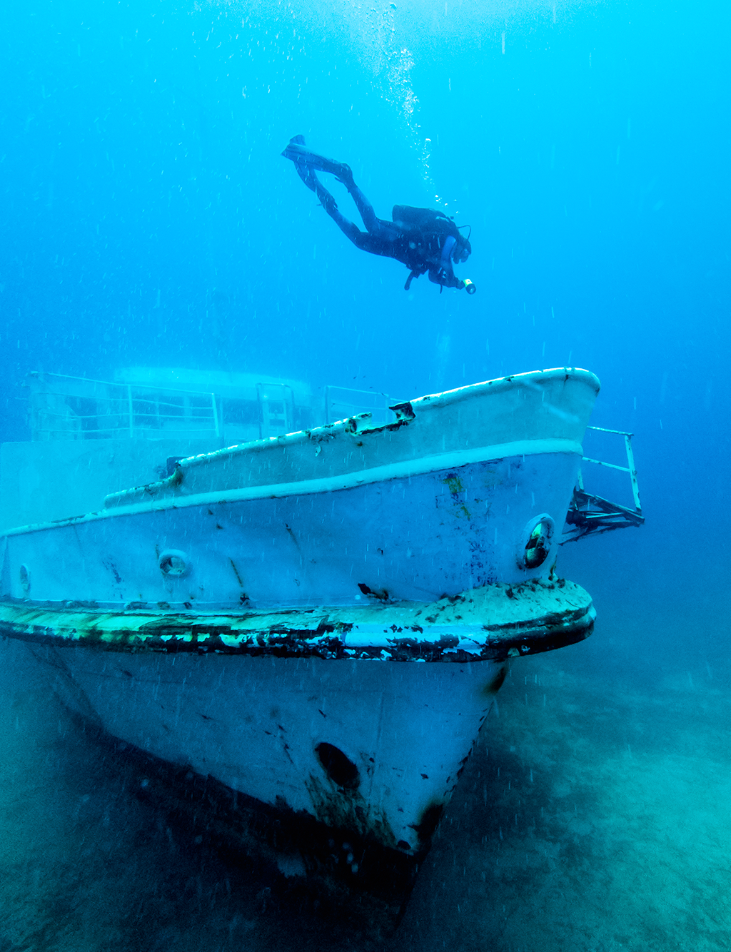 PADI Wreck Diver on the MV Karwela
