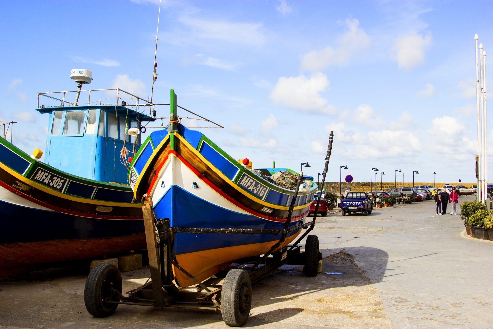 Fishing boat Marsalforn
