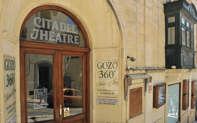 Gozo 360 - entrance Victoria