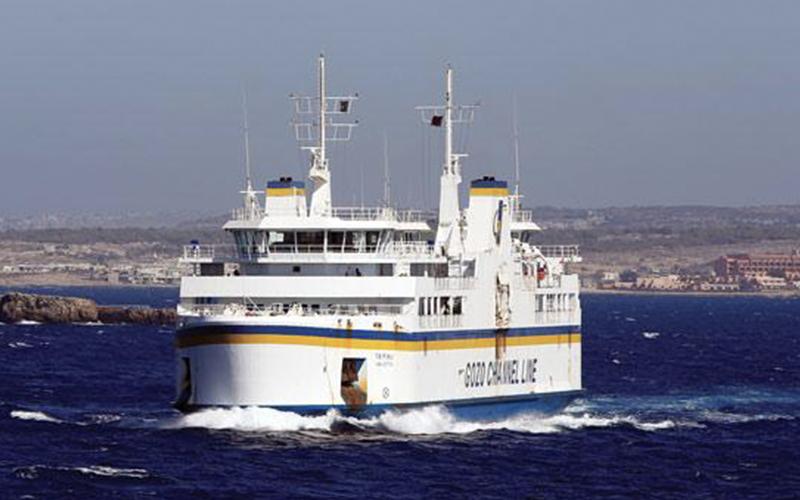 Gozo Ferry off Comino